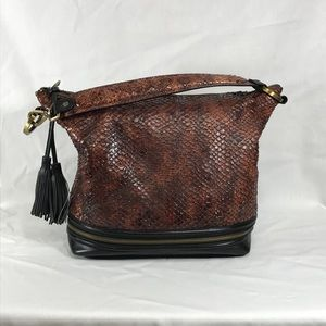 WORTH Hobo Style Shoulder Bag
